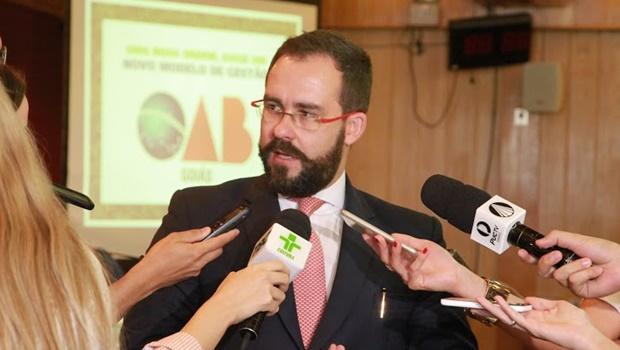Presidente da OAB-GO ainda não  conseguiu implementar suas propostas
