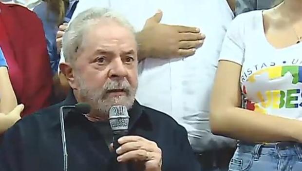 """""""Não devo e não temo"""", diz Lula a militantes do PT"""