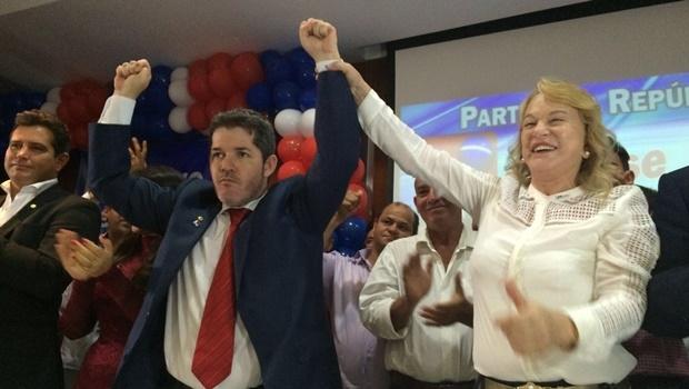 Deputado federal Waldir Soares e deputada federal Magda Mofatto | Foto: Larissa Quixabeira \ Jornal Opção
