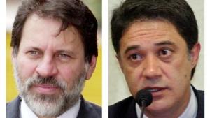Delúbio Soares e Silvio Pereira: ex-dirigentes petistas são alvos de investigação de nova fase da Operação Lava Jato | Fotos: Divulgação