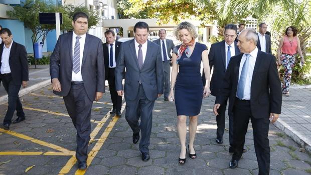 Marconi Perillo participa da posse dos ministros de Temer em Brasília