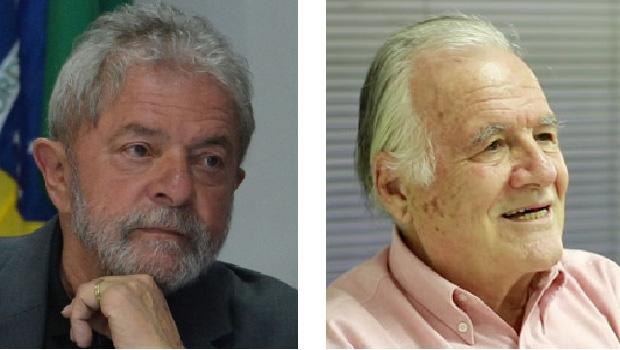 Lula da Silva e Mino Carta: aliados políticos e ideológicos. O segundo manda um recado para as oposições: todas as famílias têm algum problema a ser realçado | Valter Campanato/Agência Brasil