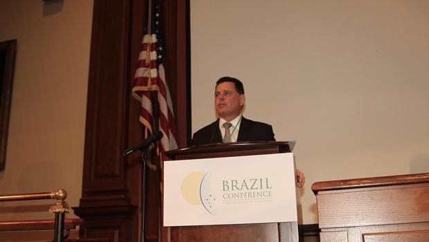 Governador Marconi em palestra na Brazil Conference | Foto: Marcos Villas Boas