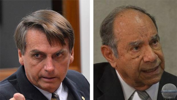 Jair Bolsonaro e Brilhante Ustra: o deputado revisa a história e defende o coronel do Exército, que é apontado como torturador