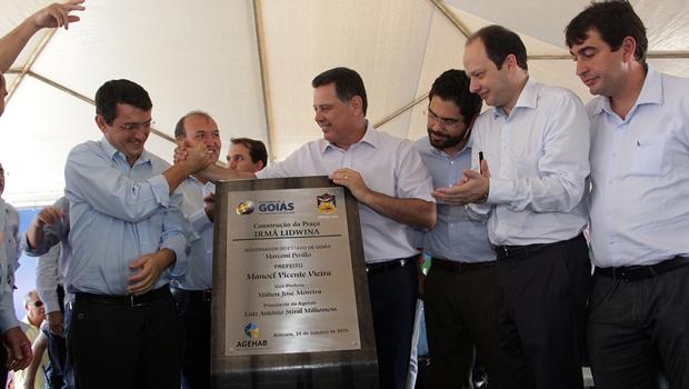 Em Anicuns, Marconi diz quem em Goiás há um governo que se preocupa com seu povo