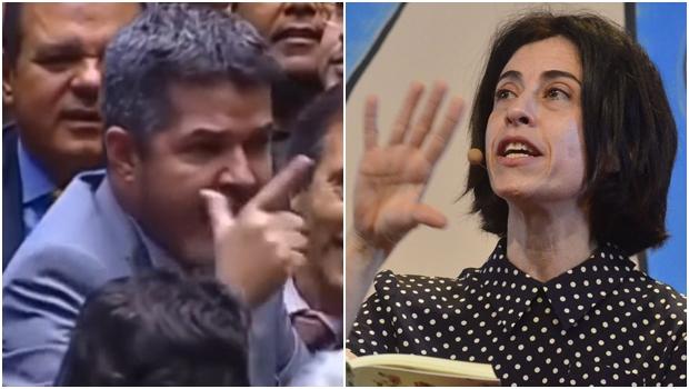 "Ao citar Delegado Waldir, Fernanda Torres compara goiano a ""velho coronel patriarcal"""