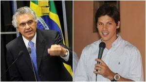 Ronaldo Caiado e Daniel Vilela caiado-daniel-agencia-senado-facebook