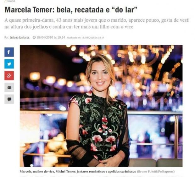 Reportagem foi publicada na última segunda-feira no site da revista | Foto: Reprodução