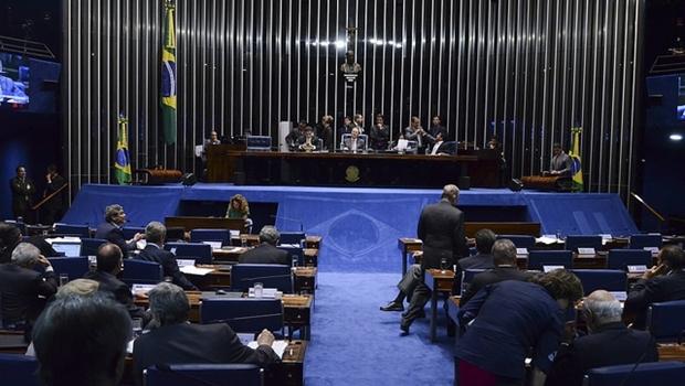 Senado aprova formação da comissão especial do impeachment em votação na tarde desta segunda-feira (25/4) | Foto: Ana Volpe/Agência Senado