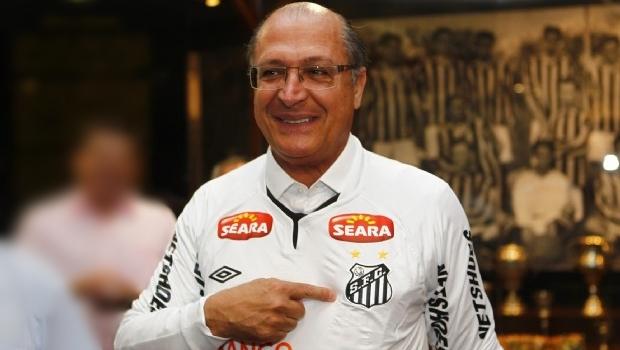 "Alckmin: ""Sou candidatíssimo a presidente… do Santos Futebol Clube"""