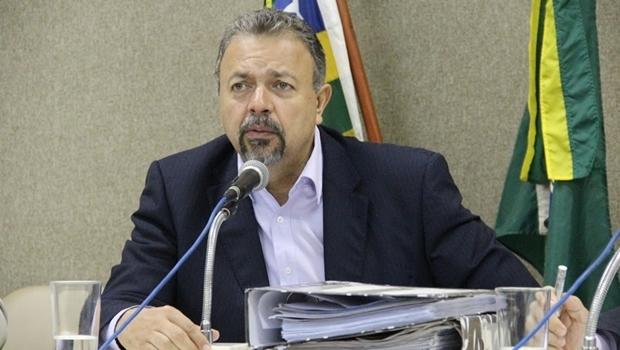 Vereador Elias Vaz (PSB) na Comissão de Constituição, Justiça e Redação da Câmara Municipal | Foto: Alberto Maia / Câmara Municipal