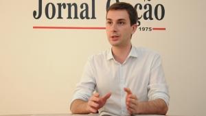 Paranaense Henrique Vale, presidente da Juventude do PSDB | Foto: Renan Accioly / Jornal Opção