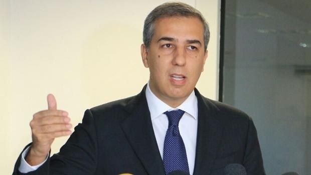 Vice-governador e secretário José Eliton durante coletiva de imprensa na SSPAP-GO   Foto: André Saddi