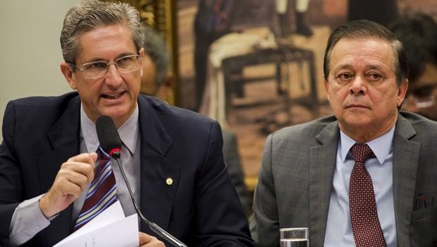 Deputados Rogério Rosse (PSD) e Jovair Arantes (PTB): presidente e relator do impeachment | Foto: Marcelo Camargo / ABr
