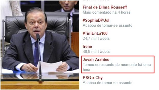 Em dia decisivo, goiano Jovair Arantes é um dos assuntos mais comentados do Twitter