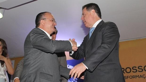 Governadores Pedro Taques e Marconi Perillo | Foto: Humberto Silva