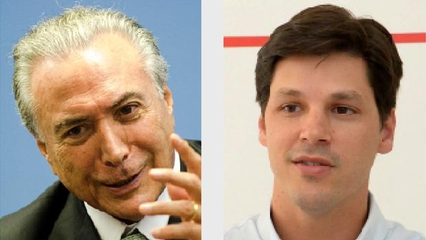 Michel Temer, se assumir a Presidência da República, pode fortalecer o projeto político de Daniel Vilela para 2018: a disputa do governo