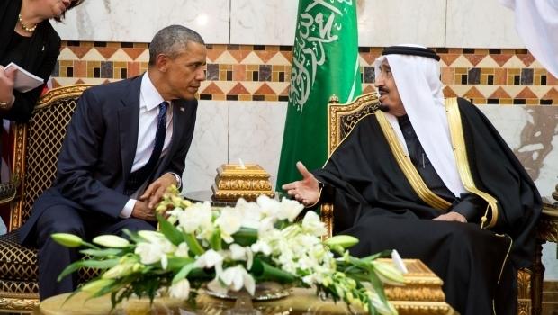 Presidente dos EUA, Barack Obama, e rei da Arábia Saudita, Salman Al Saud: relações abaladas, mas ainda precisam um do outro | Foto: Pete Souza/ Casa Branca