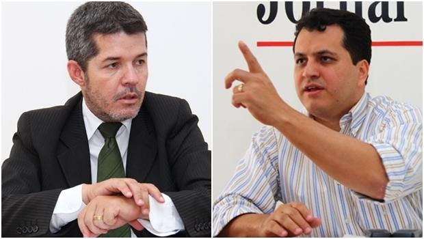 Deputado federal Waldir Soares e o atual vice-prefeito, Agenor Mariano | Fotos; Fernando Leite