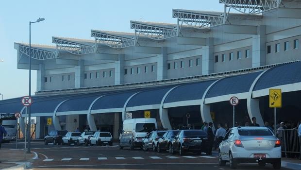Fachada do aeroporto de Goiânia | Foto: Renan Accioly/ Jornal Opção