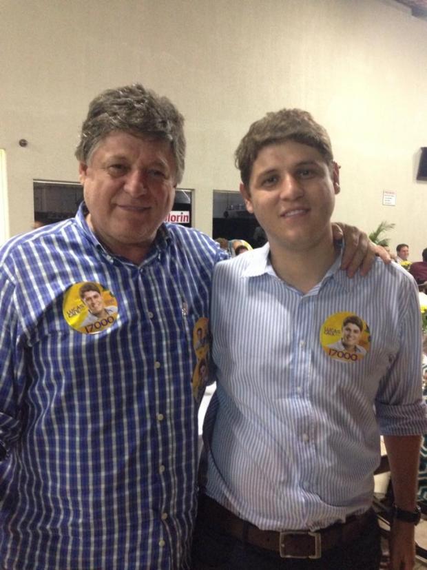 Benitez Calil e Lucas Calil foto do facebook