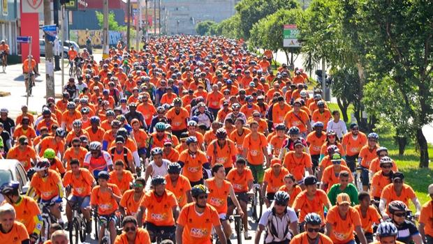 Bora de Bike fará parte das ações do Maio Amarelo em Goiânia