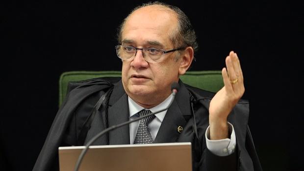 Ministro Gilmar Mendes alegou, no primeiro pedido, que a PRG precisava apresentar novos fatos para embasar a denúncia após ouvir advogados de Aécio | Foto : Rosinei Coutinho/SCO/STF