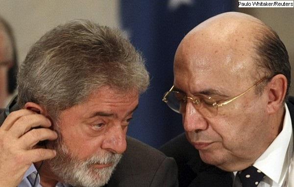 Henrique Meirelles e Lula da Silva foto da Reuters