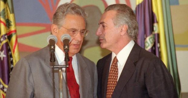 Michel Temer e FHC 1 956x500
