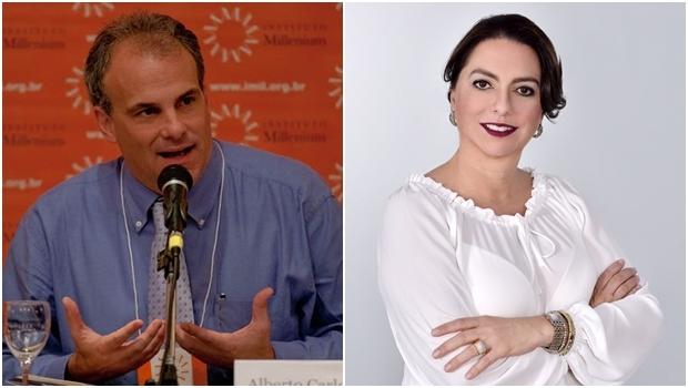 Palestrantes Alberto Almeida e Doris Miranda | Fotos: EBC / divulgação