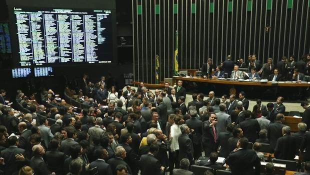 Sessão para aprovação da nova meta fiscal durou mais de 16 horas | Foto: Reprodução/Agência Brasil