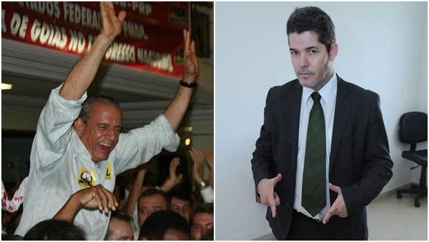 Delegado Waldir e Iris aparecem empatados na disputa pela Prefeitura de Goiânia