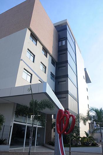 Hospital do Coração: avançado centro médico amplia suas instalações | Foto: Renan Accioly/Jornal Opção