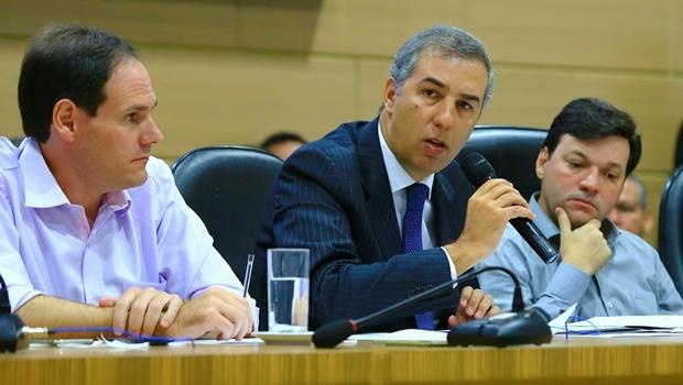 Deputado Lissauer Vieira e o secretário José Eliton | Foto: Wildes Barbosa