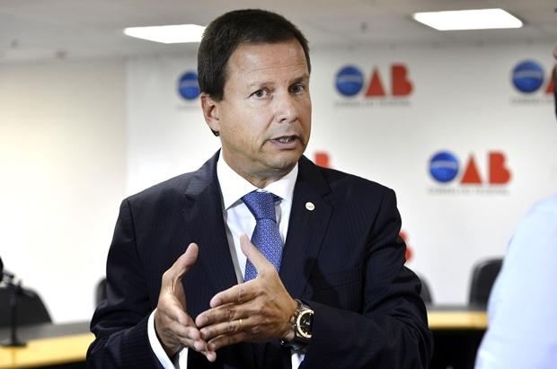 Presidente da OAB, Claudio Lamachia critica nomeação de supostos envolvidos   Foto: Valter Campanato / ABr
