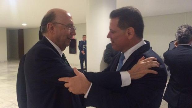 Henrique Meirelles abre portas do Ministério da Fazenda para Marconi Perillo e para Goiás
