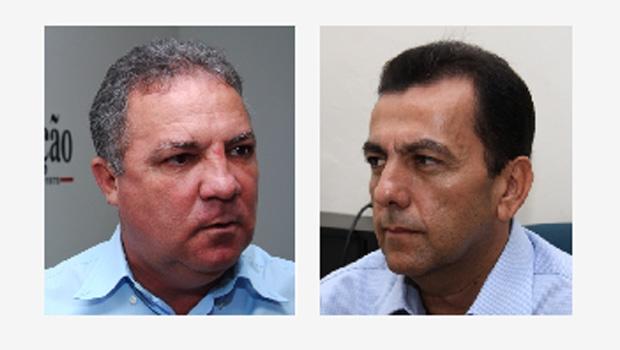 Misael Oliveira e Zélio Cândido: o candidato da máquina e o postulante bancado por Vanderlan Cardoso