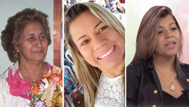 Dária Rodrigues, Aninha Carvalho e Talitta di Martino: uma delas pode ser vice em Trindade