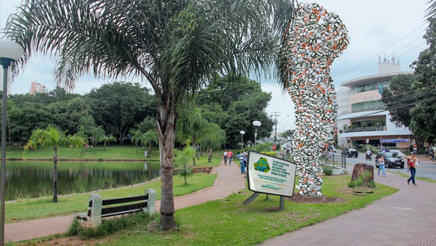 Parque de Goiânia recebe escultura inusitada a partir deste domingo
