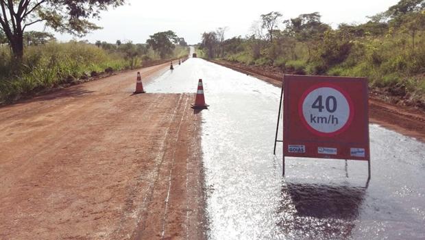 Agetop faz reparos em rodovias de Goiás