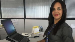 """Gestora de Projetos do Escritório Regional Noroeste do Sebrae-GO, Ana Paula da Conceição: """"Queremos que as pessoas tenham qualidade de atendimento, inovação, organização financeira e, assim, sucesso empresarial"""""""