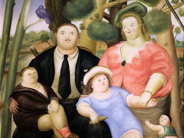Pintura sobre família una-familia