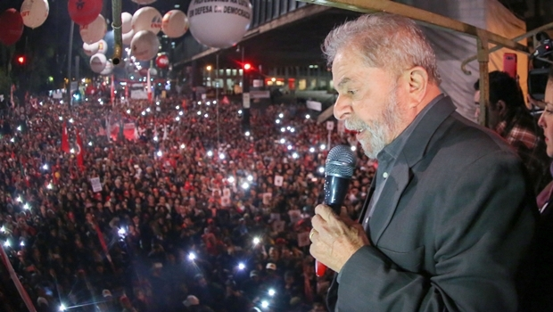 Lula discursa em Ato Contra o Golpe na Avenida Paulista   Foto: Ricardo Stuckert / Instituto Lula