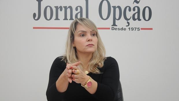 Delegada Ana Elisa Gomes | Foto: Renan Accioly/Jornal Opção