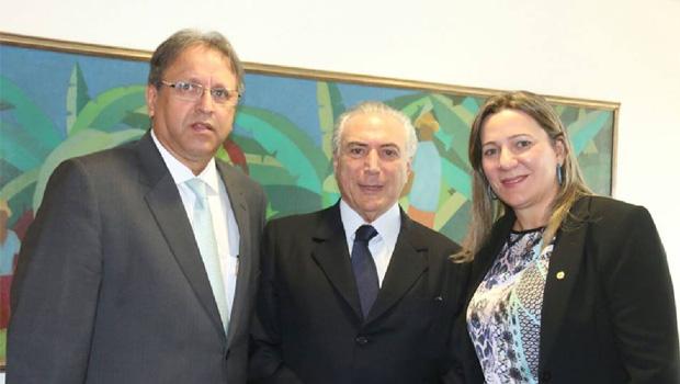 Marcelo Miranda abre canal direto com Michel Temer