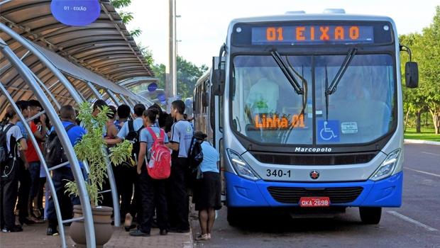 """Em Palmas, aproximadamente 50 mil pessoas são usuárias do transporte coletivo. é uma demanda muito pequena para a implantação de BRT""""   Foto: Divulgação"""