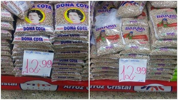 Preço do feijão carioca bate recorde e espanta consumidores da capital