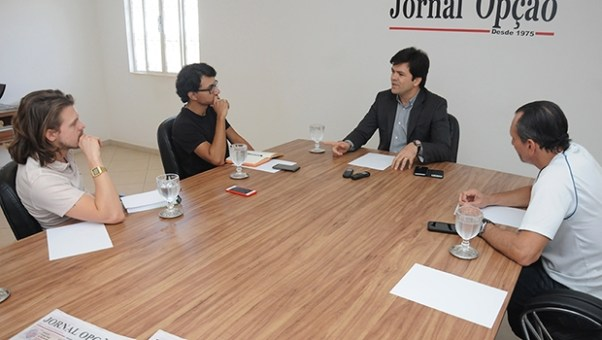 """Secretário de Saúde de Goiânia, Fernando Machado: """"Iris Rezende se mostrou como um ótimo gestor. Ele ainda não se colocou como pré-candidato à Prefeitura, mas se ele voltasse, seria ótimo para a cidade""""   Foto: Renan Accioly"""