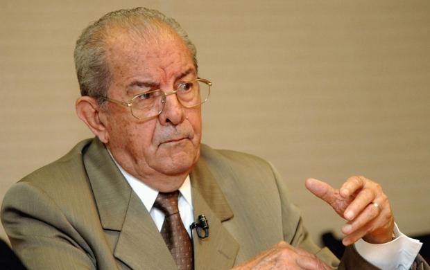 Jarbas Passarinho foi senador, governador do Pará e ministro na ditadura militar e no governo Collor   Foto: Arquivo/Agência Brasil
