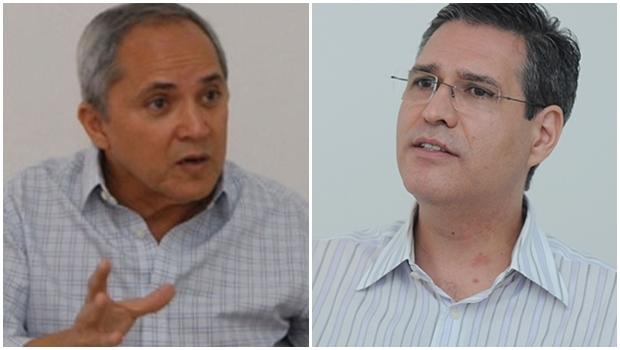 Pré-candidatos Luiz Bittencourt e Francisco Jr